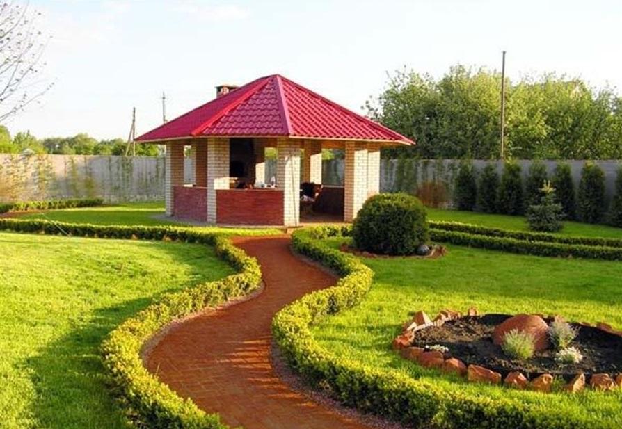 Ландшафтный дизайн на даче – схемы и примеры для маленьких и больших участков