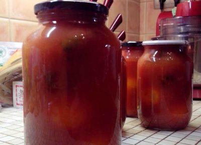 Отборные томаты в собственном соку