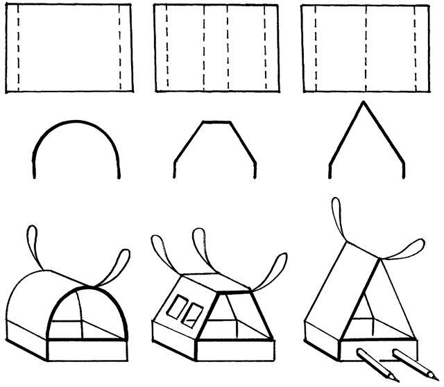 Бумажная кормушка для птиц