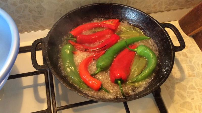 Как замариновать перец по-армянски на зиму