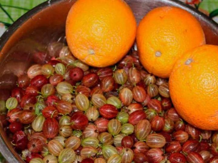 Апельсины и крыжовник